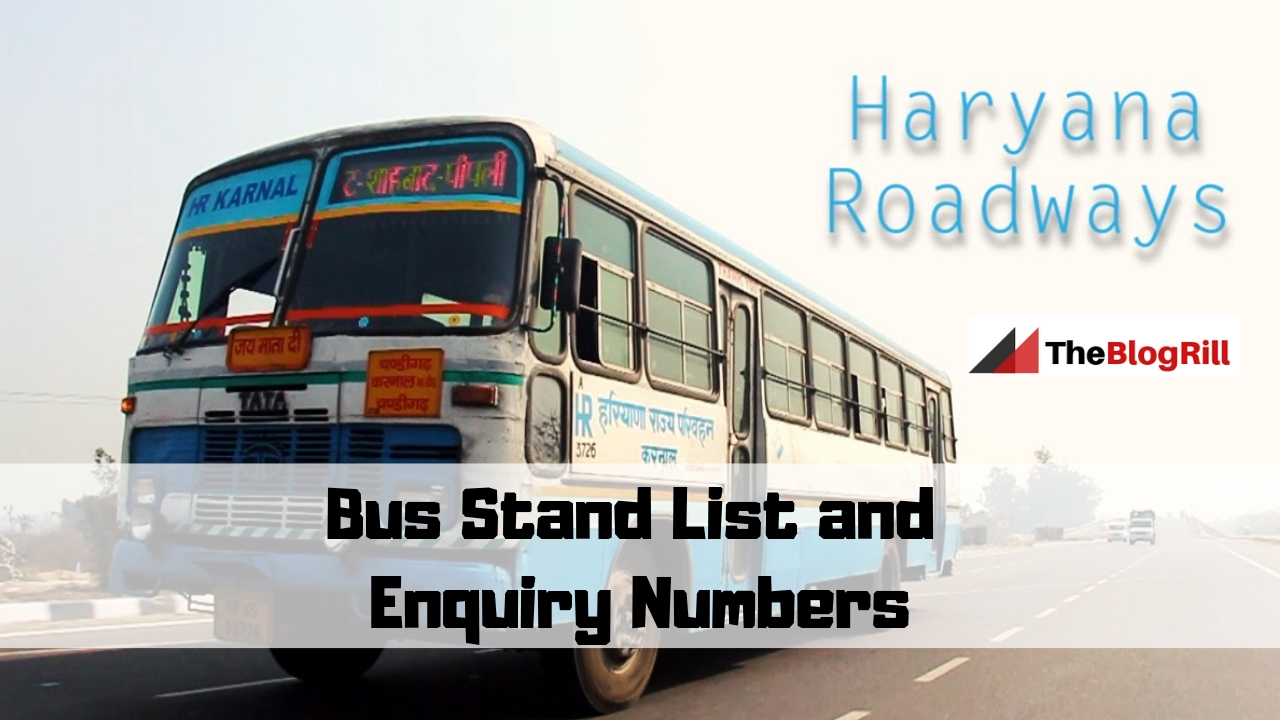 Bus Stand List and Enquiry Numbers