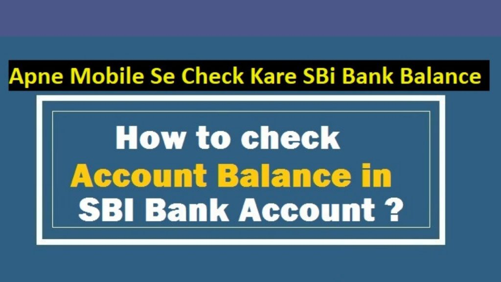 how-to-check-sbi-bank-balance
