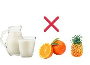 milk-pineapple-orange-bad-combination