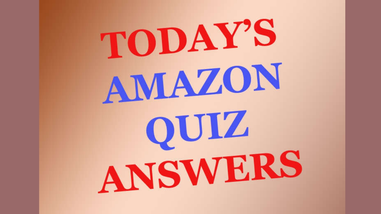 amazon-quiz-contest-10april2019 answers updated