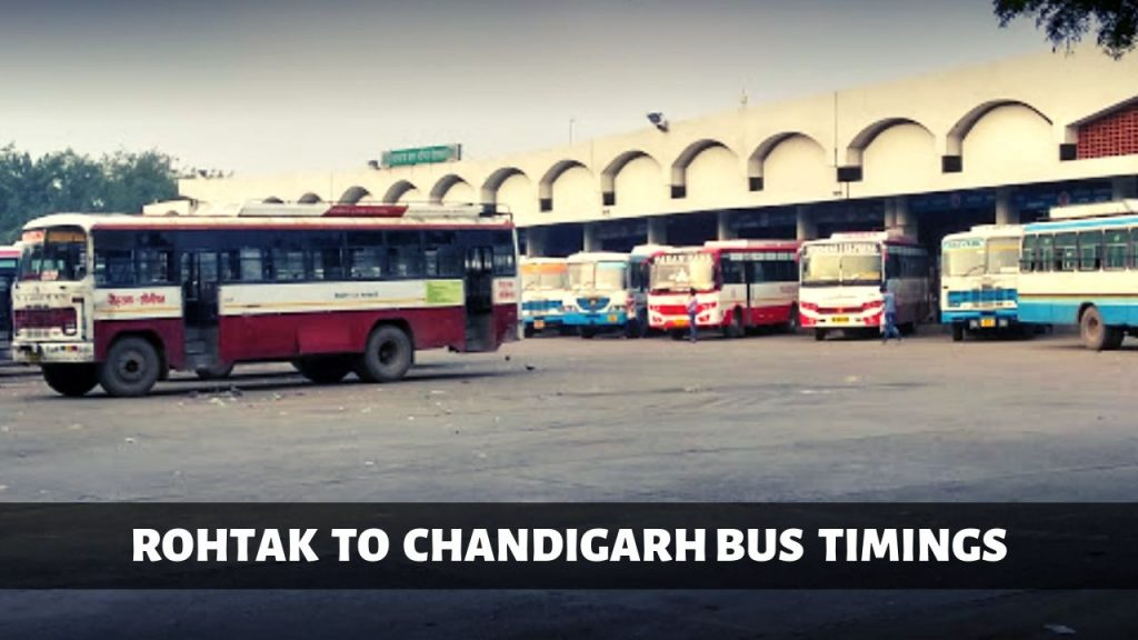 rohtak-to-chandigarh-bus-time-table