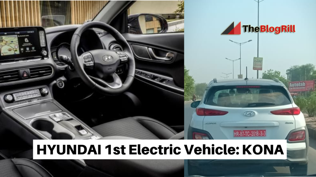 HYUNDAI 1st Electric Vehicle_ KONA
