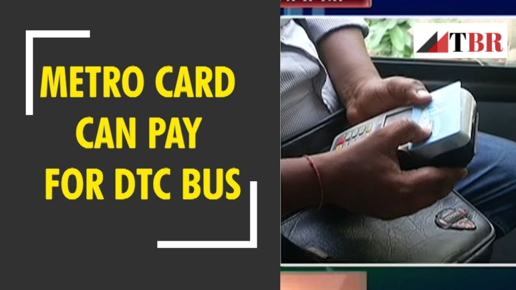 How to use Metro Card in DTC Buses