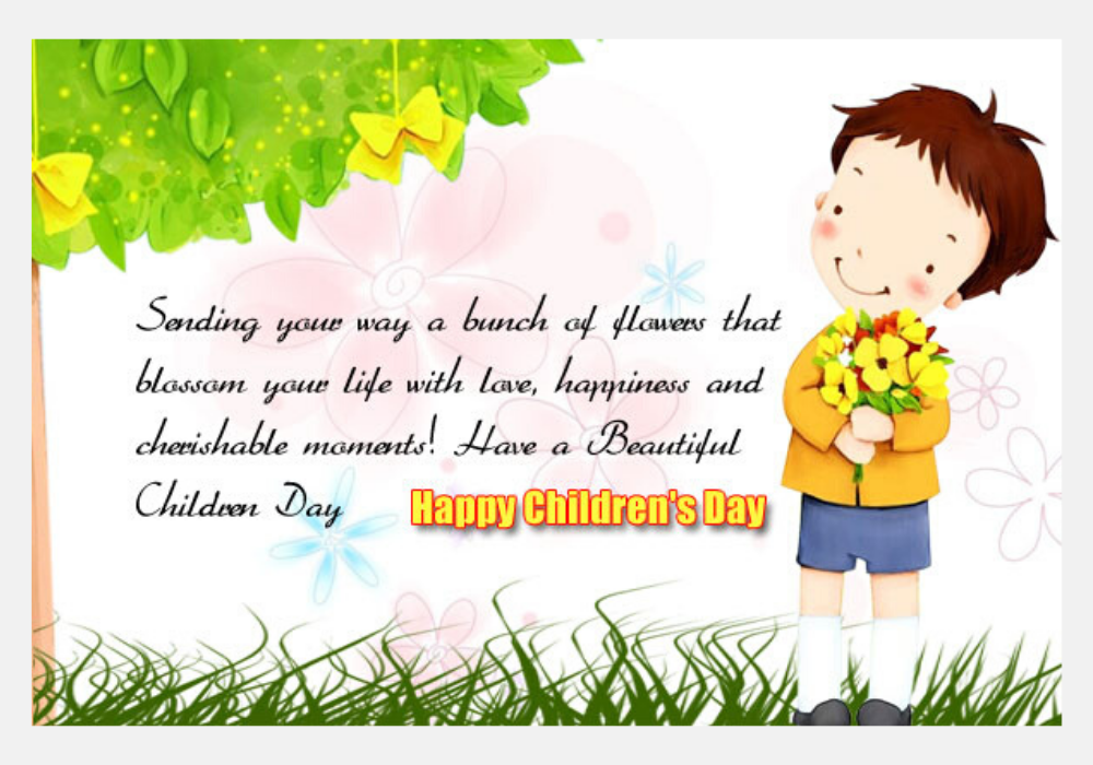 Children's Day Wishes From Parents