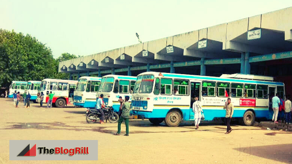 Jind Bus Stand Time Table