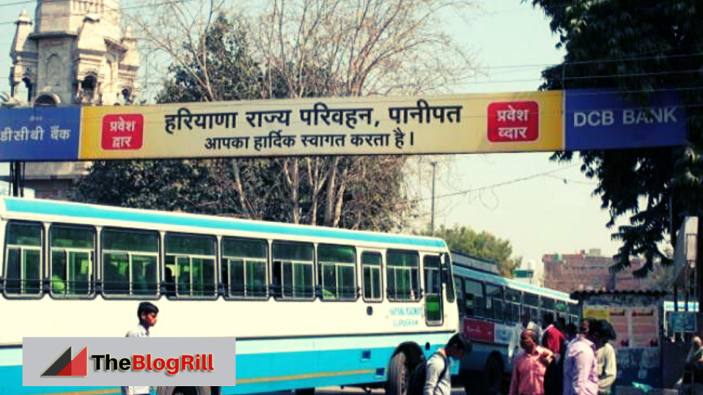 Panipat Bus Stand Time Table