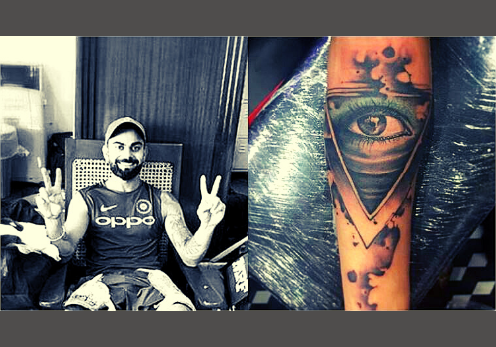 Virat Kohli New Tattoo Photos