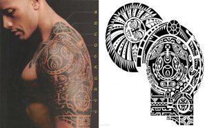 the rock body tattoo