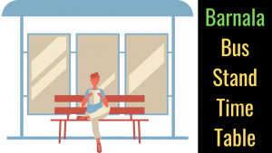 barnala Bus Stand Time Table (2)