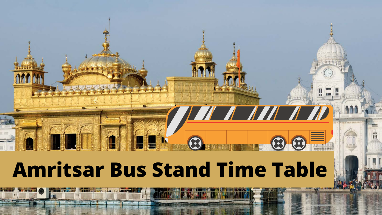 amritsar bus stand time table